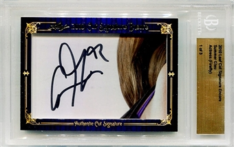 2010 Leaf Cut Signature Encore Autograph Summer Glau Firefly 1/3