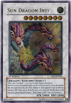 Yu-Gi-Oh Absolute Powerforce Single Sun Dragon Inti Ultimate Rare