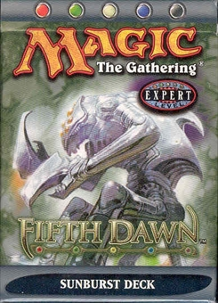 Magic the Gathering Fifth Dawn Sunburst Precon Theme Deck