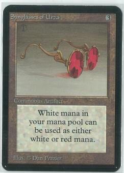 Magic the Gathering Alpha Single Sunglasses of Urza - SLIGHT PLAY (SP)