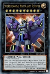 Yu-Gi-Oh Return of the Duelist Single Superdimensional Robot Galaxy Destroyer Ultra Rare