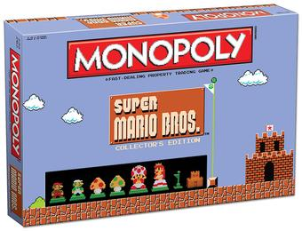 Monopoly: Super Mario Bros. Collector's Edition (USAopoly)