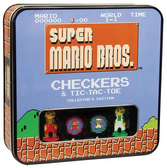Super Mario Bros. Checkers & Tic-Tac-Toe Collector's Edition (USAopoly)