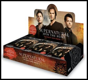 Supernatural Seasons 4-6 Trading Cards Box (Cryptozoic 2015) (Presell)