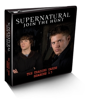 Supernatural Seasons 1-3 Trading Cards Album/Binder (Cryptozoic 2014)