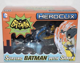 Wizkids Heroclix 2016 Convention Exclusive Surfing Batman With Shark Pack