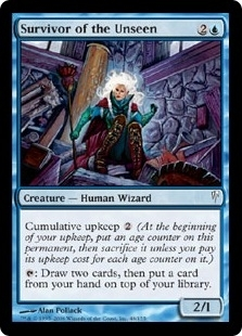 Magic the Gathering Coldsnap Single Survivor of the Unseen Foil