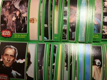1977 Topps Star Wars Series 4 (Green) Complete Trading Card Set