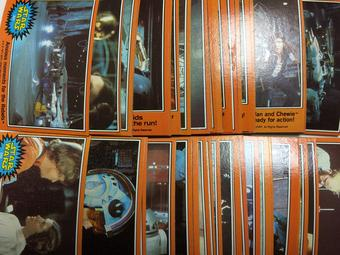1977 Topps Star Wars Series 5 (Orange) Complete Trading Card Set