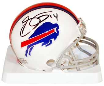 Sammy Watkins Autographed Buffalo Bills Football Mini-Helmet