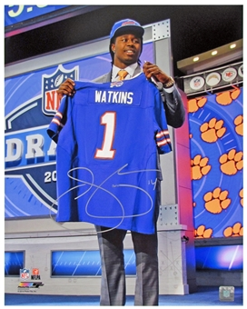 Sammy Watkins Autographed Buffalo Bills Draft 16x20 Football Photo