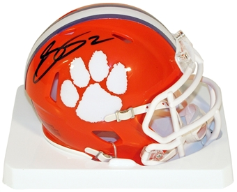 Sammy Watkins Autographed Clemson Tigers Speed Football Mini Helmet