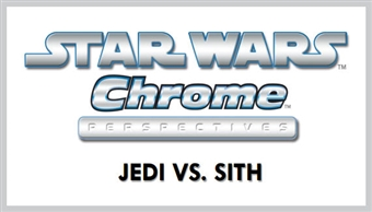 Star Wars Chrome Perspectives: Jedi Vs. Sith Hobby Box (Topps 2015) (Presell)