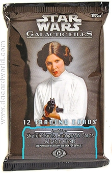 Star Wars Galactic Files Hobby Pack (Topps 2012)
