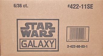 Star Wars Galaxy Series 7 Retail 36-Pack 6-Box Case (Topps 2012)