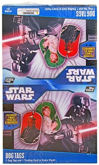 Star Wars Classic Dog Tags 24-Pack Box (Topps 2011)