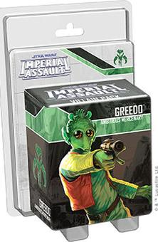 Star Wars Imperial Assault: Greedo Villain Pack (Presell)