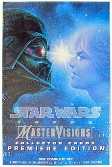 Star Wars Premiere Edition MasterVisions Collector Card Box Set (Topps 1995)