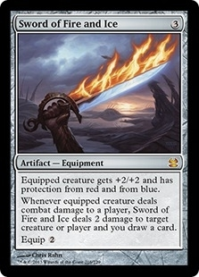Magic the Gathering Modern Masters Single Sword of Fire and Ice - NEAR MINT (NM)