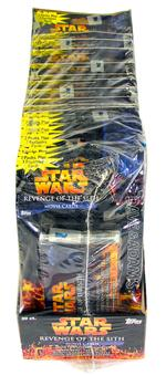 Star Wars Revenge of the Sith 20-Blister Pack Box (Topps)