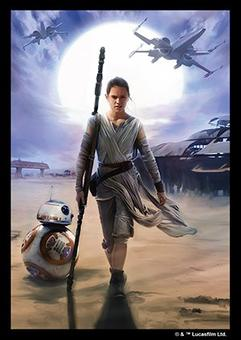 Star Wars The Force Awakens Limited Edition Art Card Sleeves Rey (Fantasy Flight Games)