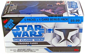 Star Wars Clone Wars Value Box (2008 Topps)