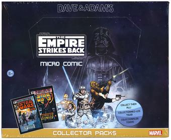 Star Wars: The Empire Strikes Back Micro Comic Collectors Packs Box (24 Ct.) (IDW)
