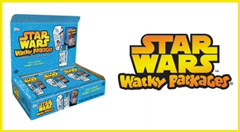 Star Wars Wacky Packages Hobby 8-Box Case (Topps 2014)