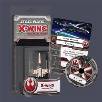 Star Wars X-Wing Miniature Game: X-Wing Expansion 6-Box Case