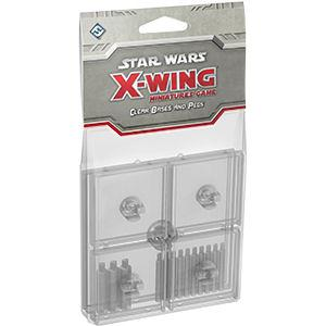 Star Wars X-Wing Miniatures Game: Clear Bases and Pegs