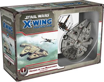Star Wars X-Wing Miniatures Game: Heroes of the Resistance Expansion Pack (FFG)