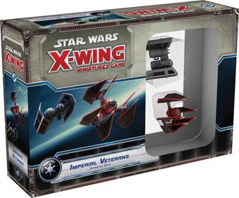 Star Wars X-Wing Miniatures Game: Imperial Veterans Expansion Pack (Presell)