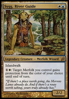 Magic the Gathering Lorwyn Single Sygg, River Guide FOIL - NEAR MINT (NM)