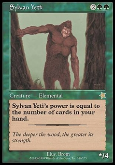 Magic the Gathering Starter Single Sylvan Yeti - NEAR MINT (NM)