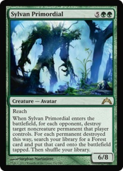 Magic the Gathering Gatecrash Single Sylvan Primordial - NEAR MINT (NM)