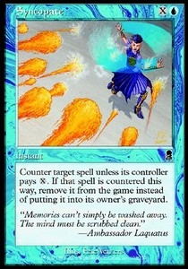 Magic the Gathering Odyssey Single Syncopate Foil