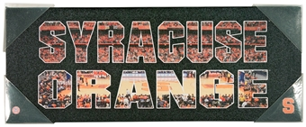 Syracuse Orange Artissimo Team Pride 20x8 Canvas