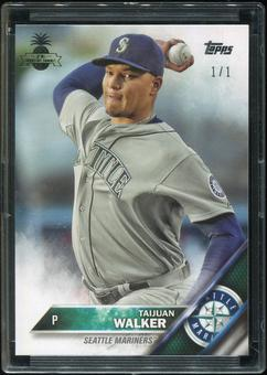 2016 Topps Baseball Hawaii Summit Exclusive #99 Taijuan Walker 1/1