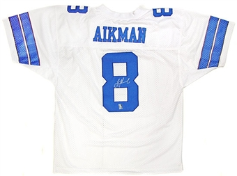 Troy Aikman Autographed Dallas Cowboys Replica Jersey