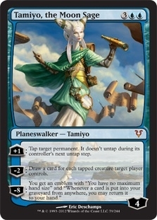 Magic the Gathering Avacyn Restored Single Tamiyo, the Moon Sage Foil - NEAR MINT (NM)