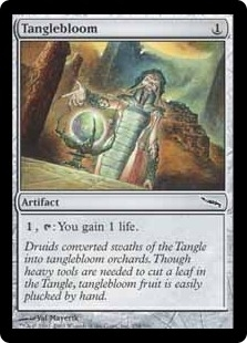 Magic the Gathering Mirrodin Single Tanglebloom Foil