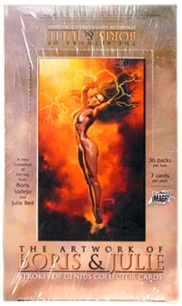 Strokes of Genius: The Artwork of Boris & Julie Hobby Box (Comic Images 2003)