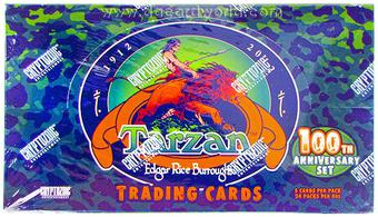 Tarzan 100th Anniversary Trading Cards Box (Cryptozoic 2012)