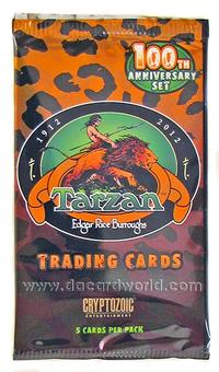 Tarzan 100th Anniversary Trading Cards Pack (Cryptozoic 2012)