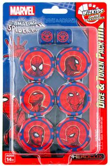 Marvel HeroClix: Spider Man Dice and Token Pack