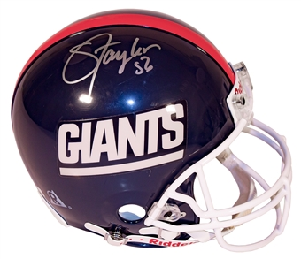 Lawrence Taylor Autographed New York Giants Authentic Proline Helmet (DACW)