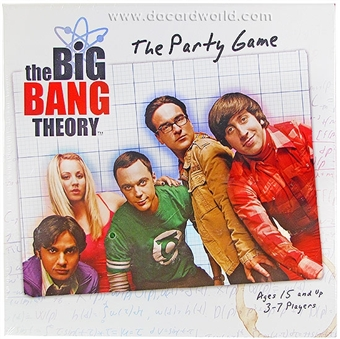 Bazinga! The Big Bang Theory Party Game (Cryptozoic Entertainment)