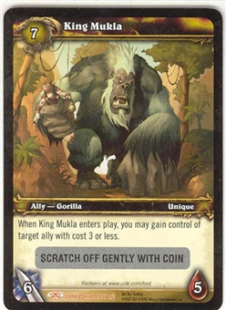 WoW Dark Portal Single King Mukla (TDP-LOOT002) Unscratched Loot