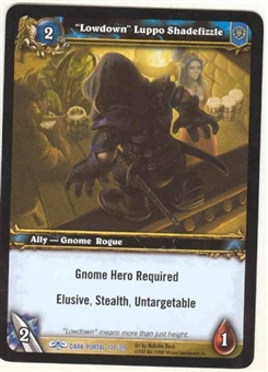 WoW Dark Portal Single Lowdown Luppo Shadefizzle (TDP-177) NM/MT