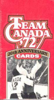 1991/92 Future Trends Team Canada (1972) Hockey Hobby Box